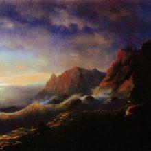 Буря. Закат. 1856 год.