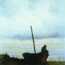 Вид на взморье в окрестностях Петербурга. 1835 год.