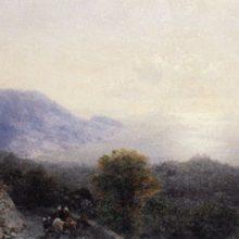 Дорога на Ай-Петри. 1894 год.