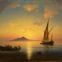Неаполитанский залив. 1841 год.