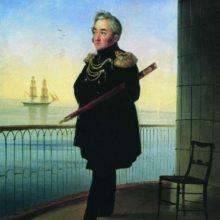 Портрет вице-адмирала М. П. Лазарева. 1839 год.