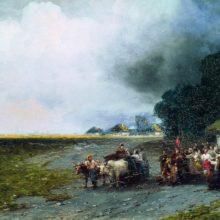 Свадьба на Украине. 1892 год.
