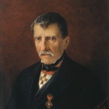 Портрет А. Халибяна, городской главы Нового Нахичевана. 1862 год.
