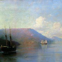 Крымский берег. 1886 год.