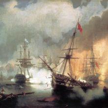 Наваринский бой, 1846 год