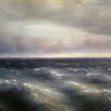 Черное море (На Черном море начинает разыгрываться буря). 1881 год.