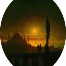 Лунная ночь у взморья. 1847 год.