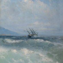 В волнах. 1893 год.