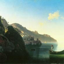Побережье в Амальфи. 1841 год.