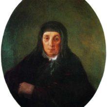 Портрет бабушки художника Ашхен. 1858 год.