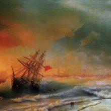 Буря над Евпаторией. 1861 год.