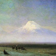 Гора Арарат. 1885 год.
