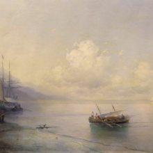 Морской пейзаж. 1898 год.
