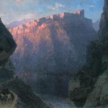 Дьявольское ущелье. 1868 год.