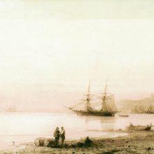 Морской берег. 1861 год.