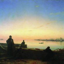 Мхитаристы на острове св. Лазаря. Венеция. 1843 год.