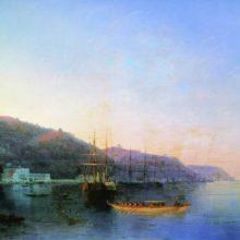 На рейде. 1874 год.