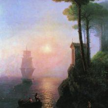 Туманное утро в Италии. 1864 год.