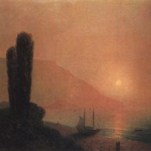 Ночь в Крыму. 1871 год.
