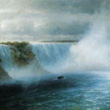 Ниагарский водопад. 1893 год.