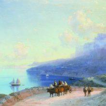 Морской берег (Крымское побережье у Ай-Петри). 1890 год.