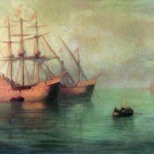Корабли Колумба. 1880-е год.