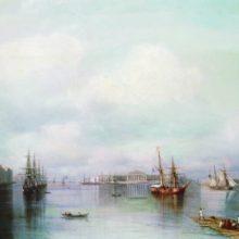 Вид Петербурга. 1888 год.