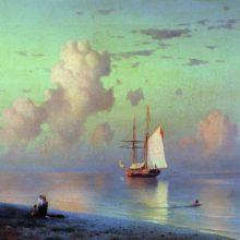 Закат. 1866 год.