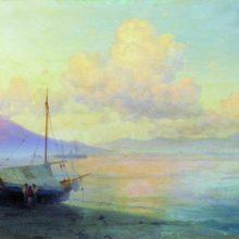 Неаполитанский залив утром. 1893 год.