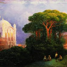 Вид Константинополя. 1851 год.
