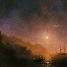Ночь в Амальфи. 1854 год.
