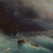 Буря на Черном море. 1873 год.