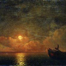 Лунная ночь (Разбитый корабль). 1871 год.