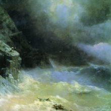 В бурю. 1899 год.
