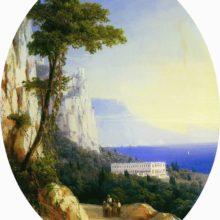 Вид в Ореанде. 1858 год.