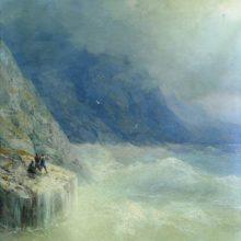 Скалы в тумане. 1890 год.