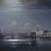 Ночной пейзаж. Венеция.