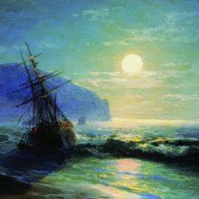 Кораблекрушение у берегов Гурзуфа. 1898 год.