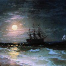 Лунная ночь. 1870-е год.