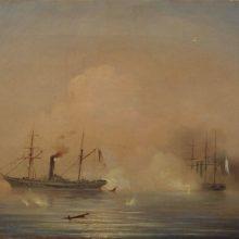 Морской бой. 1855 год.