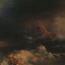 Крушение корабля «Ингерманланд» в Скагерраке в ночь на 30 августа 1842 года. 1876 год.