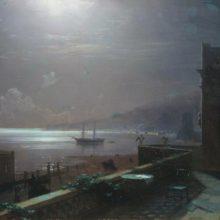 Феодосия. Лунная ночь. 1880 год.