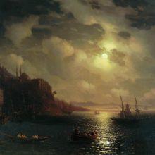Золотой Рог. Босфор. 1872 год.
