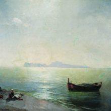 Штиль. Вид Капри (Средиземное море). 1892 год.