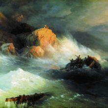 Кораблекрушение. 1876 год.