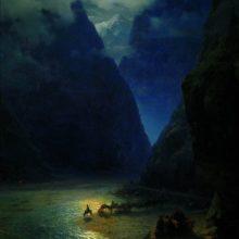 Дарьяльское ущелье. 1862 год.