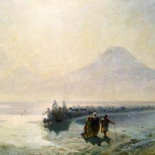 Сошествие Ноя с горы Арарат. 1889 год.