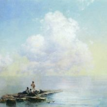Утро после бури. 1888 год.