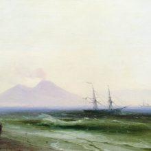 Морской пейзаж. 1878 год.