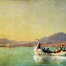 Венчание поэта в Древней Греции. 1886 год.